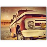 Quadro Decorativo Vintage Caminhonete Carro Antigo Decoração