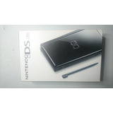 Nintendo Ds Lite Color Negro Con Cargador Manual Y Flashcard