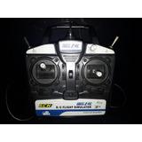 Controle Pc 6 Canais Blitz Rc Flight Simulator Avião Helicóp
