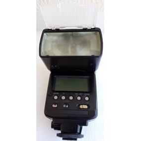 Flash Canon Speedlite 540ez Ttl Estojo Couro Pilhas+carregad