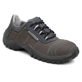 Sapato De Segurança Em Couro Nobuk Estival Energy Durability