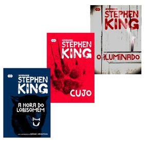Kit Biblioteca Stephen King 3 Livros Em Ofertão