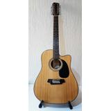 Guitarra Docerola Electroacustica Segovia 12 Cuerdas Resaque