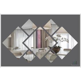 Espelho Decorativo Em Acrílico Personalizável 90 X 45 Cm