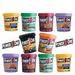 Kit 10 X Pastas De Amendoim - Power One - Sabores Á Escolher