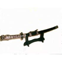 Espada Katana Cabeça De Dragão 52 Cms. Com Suporte .