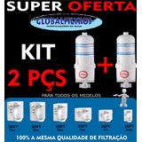 Refil Filtro Para Purificador De Água Soft Everest Cj 2 Peça