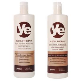 Kit Yellow Bloom Therapy Shampoo E Máscara Condicionadora