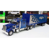 1:32 Kenworth W900 Aerocab C Caja Seca New Ray Canadiense