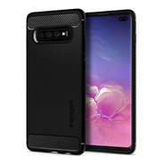 Capa Spigen Rugged Armor Para Galaxy S10 Plus Original
