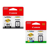 Set Cartuchos Canon Cl-54 (color) + Pg44 (negro)