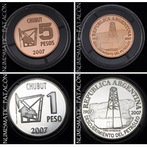 2 Monedas Oro Y Plata Petroleo En Argentina - Envío Gratis