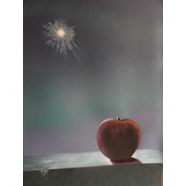 Martha Chapa Serigrafia Original Manzana A La Luna