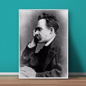 Quadros / Posters Em Madeira Mdf - Nietzsche - A3