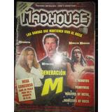 Revista Madhouse Metallica Marilyn Manson Megadeth