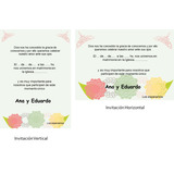 Kit Imprimible 100% Editable Boda Matrimonio Oferta 2x1