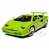 Carro Lamborghini Countach 5000 Escala 1:18 Burago