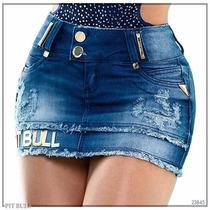 Saia Pit Bull Pitbull Jeans Levanta Bumbum