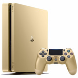 Consola Playstation 4 Slim 1 Tb Edicion Dorada Ps4