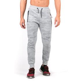 Pantalón Gris Jogger Pants, Detalle Bolsas.