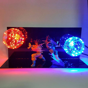Dragon Ball Z Goku E Vegeta Com Led Action Figure