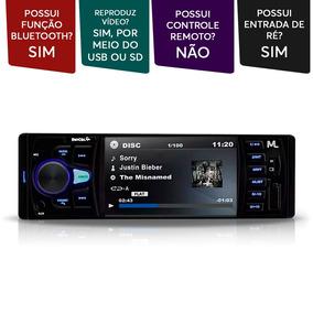 Mp5 Player Multilaser Rock 4 Pol 1 Din Usb Sd Bluetooth Polo