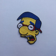 Parche Bordado Simpson Milhouse