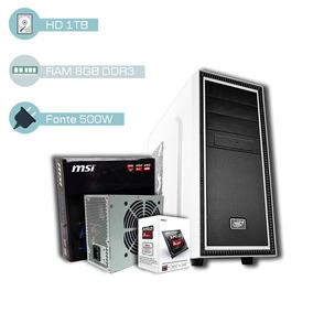 Cpu Gamer Amd 3.9ghz, 8gb, 1tb, Radeon Hd 8370, Promoção