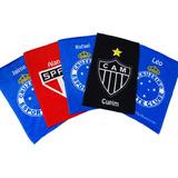 5 Toalhas Social Personalizadas, Time De Futebol.