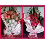 Regalo Romantico Aniversario Peluche Bombones Flores Novios