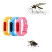 Pulsera Silicona Repelente Anti Mosquito Niños Y Adultos