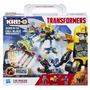 Bloco Montar Brinquedo Kreo Transformers Fuga Da Jaula A6951