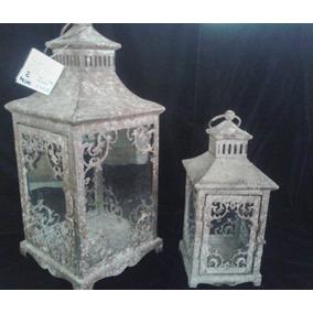 Conjunto De Castiçais Rústicos Modelo Antiguidade Medieval