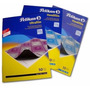 Papel Carbonico Pelikan Ultrafilm Azul Oficio X 10 Hojas