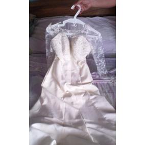 Vestido De Novia Nuevo Talla 6 (negociable)