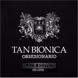 Tan Bionica Obsesionario Black Edition Cd + Dvd Oferta Nuevo