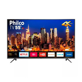 Smart Tv Led 55 Polegadas Philco Ptv55f61snt Hd 4k Hdmi Usb