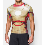 Under Armour Franela Compresion Iron Man