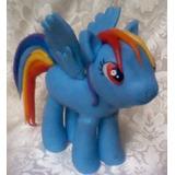 Tope De Torta Infantil My Little Pony En Masa Flexible.