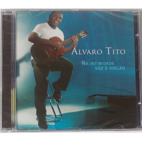 Cd Alvaro Tito Voz E Violão Vol.1 Voz E Play Back Aa Lacrado