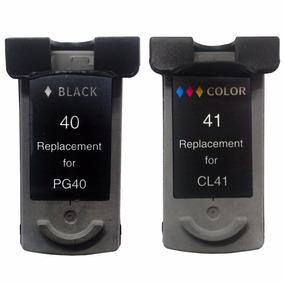Kit Cartucho Compativel Pg40 Black + Cl41 Color Ip Mp Mx