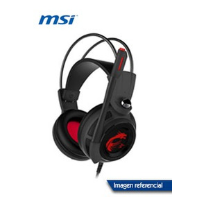 Auriculares Msi Ds502, Gamer, 7.1 Virtual Surround, Micrófon