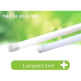Tubo T8 9w Led 60cms Opalino Gabinete Lampara Foco 9 Watts