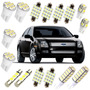 Kit Led Ford Fusion Super Branca Xenon Pingo Teto Placa Ré