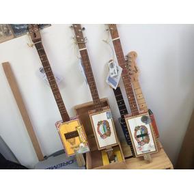 Cigar Box Guitar By Moonart - Encomende Já A Sua!