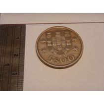 Moeda Antiga Portuguesa 5$00 - 1974