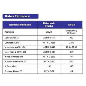 Aceite (cristal) Plastificante Para Tr (hule Termoplástico)