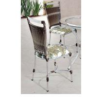 Cadeira P/ Cozinha Alumínio E Junco Sintético Valor Unitário