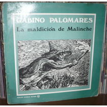 Gabino Palomares Lp La Maldicion De Malinche