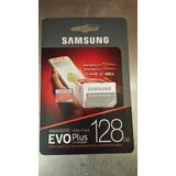 Memoria Microsd 128gb Samsung Evo Plus Clase 10